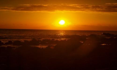 Zdjecie HISZPANIA / Wyspy Kanaryjskie / La Gomera / zachód słońca 4
