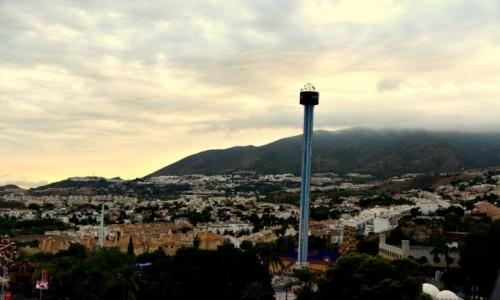 Zdjęcie HISZPANIA / Andaluzja / Benalmadena / Panorama na wzgórze Calamorro