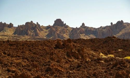 Zdjęcie HISZPANIA / Kanary / Teneryfa / Okolice Teide