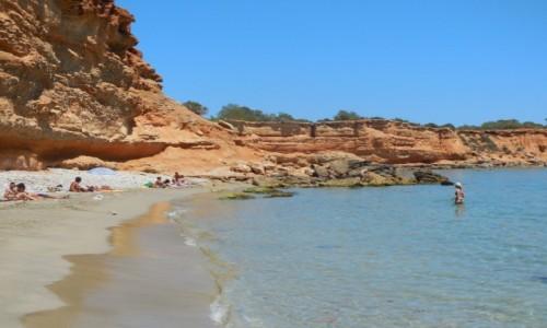 Zdjęcie HISZPANIA / Ibiza / Sa Caleta / Wspomnienie lata