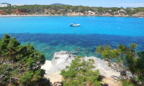 Zdjęcie HISZPANIA / Ibiza / Wybrzeże w okolicy Santa Eulalia / Wspomnienie lata