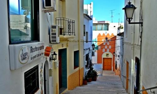 Zdjecie HISZPANIA / Costa Blanca / Calpe / Pastelowa starówka