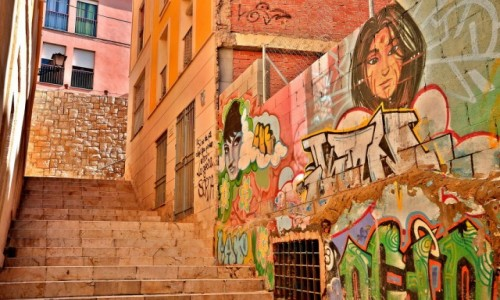 Zdjecie HISZPANIA / Costa Blanca / Alicante / Miejsce odpowiednie, gdy w życiu zabraknie kolorów;)