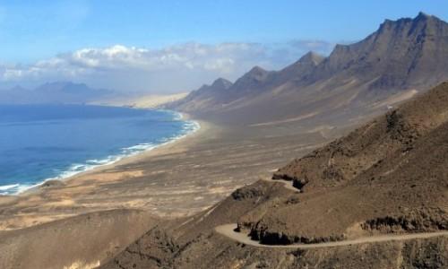 Zdjęcie HISZPANIA / Fuerteventura / Cofete / Droga na Cofete