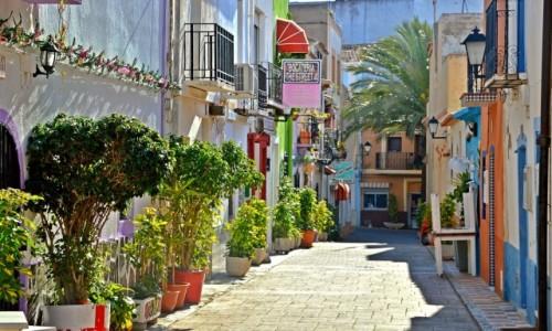 Zdjęcie HISZPANIA / Costa Blanca / Calpe / W uliczkach starego miasta