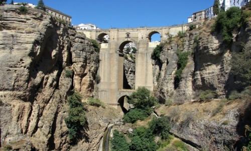 Zdjęcie HISZPANIA / andaluzja / Ronda / Są takie mosty