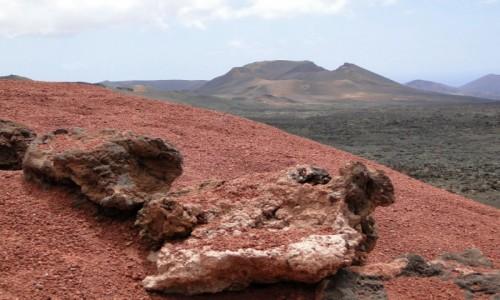 Zdjęcie HISZPANIA / Wyspy Kanaryjskie / Lanzarote / Wulkaniczne krajobrazy Lanzarote.