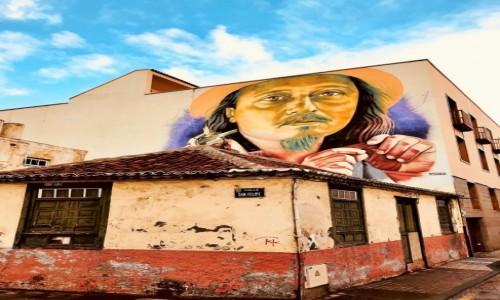 Zdjecie HISZPANIA / Teneryfa / Puerto de la Cruz / sztuka uliczna