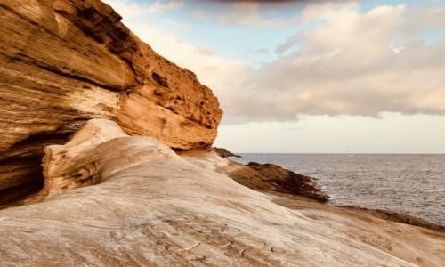 Zdjecie HISZPANIA / Teneryfa / Costa del Silencio / klif