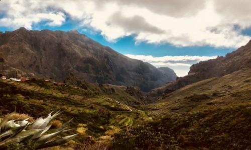 Zdjecie HISZPANIA / Teneryfa / santiago del teide / górskie widoki