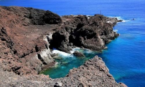 Zdjęcie HISZPANIA / Wyspy Kanaryjskie / Teneryfa / Niebiesko-czarna Teneryfa.