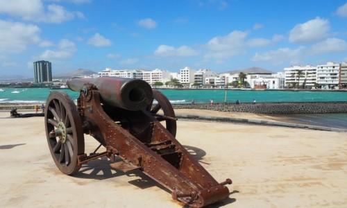 Zdjecie HISZPANIA / Wyspy Kanaryjskie / Lanzarote, Arrecife, muzeum historii / Cel... pal!
