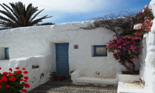 Zdjecie HISZPANIA / Wyspy Kanaryjskie / Graciosa, Pedro Barba / Biały domek na La Graciosa