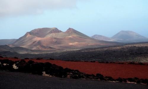 HISZPANIA / Wyspy Kanaryjskie / Lanzarote / Park Narodowy Timanfaya