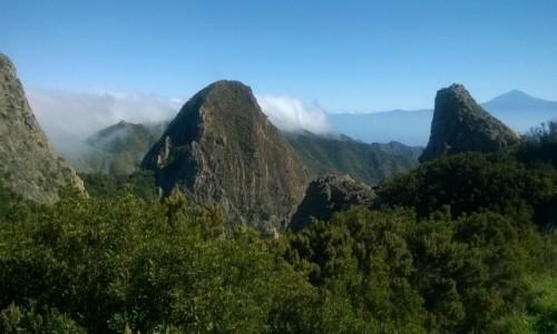 Zdjecie HISZPANIA / La Gomera / Miejsce widokowe / Na wzgórzu