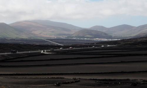 Zdjecie HISZPANIA / Wyspy Kanaryjskie / Lanzarote / Wulkaniczny krajobraz