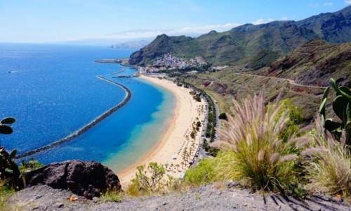 Zdjecie HISZPANIA / Teneryfa / San Andres / Playa de las Teresitas