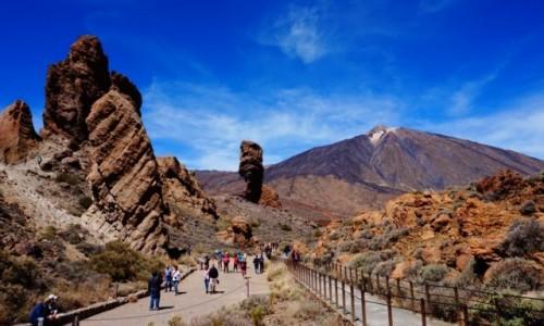 Zdjecie HISZPANIA / Teneryfa / Roques de Garcia / Teide National Park