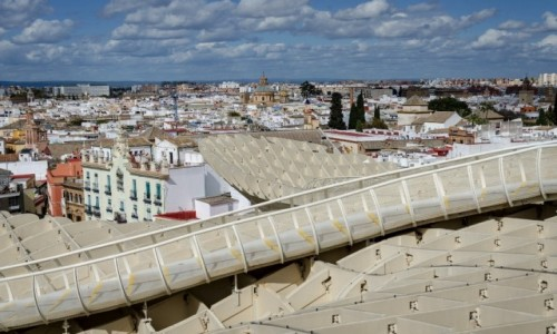 Zdjęcie HISZPANIA / Andaluzja / Sevilla / platformy......