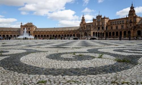 Zdjecie HISZPANIA / Andaluzja / Sevilla / bruk...