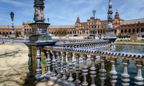 Zdjęcie HISZPANIA / Andaluzja / Sevilla / błekity inaczej...