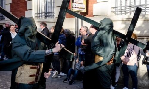 Zdjecie HISZPANIA / Andaluzja / Sevilla / penitentes...