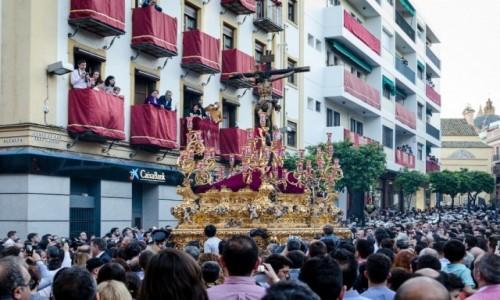 Zdjecie HISZPANIA / Andaluzja / Sevilla / tłumy...