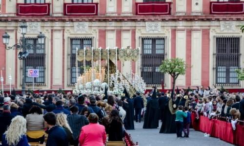 Zdjecie HISZPANIA / Andaluzja / Sevilla / plac katedralny...