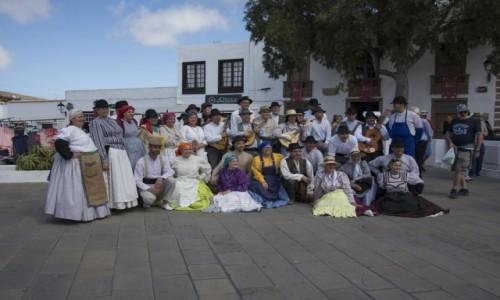Zdjecie HISZPANIA / Wyspy Kanaryjskie - Lanzarote / niedzielny targ w Teguise / na ludowo