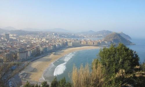 Zdjecie HISZPANIA / Gipuzkoa / San Sebastián / Donostia 10 rano