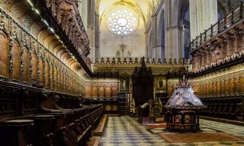 Zdjecie HISZPANIA / Andaluzja / Sevilla / prezbiterium...