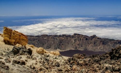 Zdjecie HISZPANIA / Teneryfa / Teide / Widok z Teide