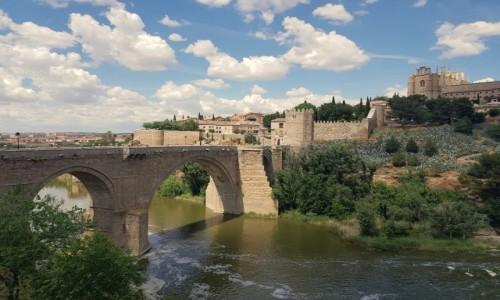 HISZPANIA / Kastylia-La Mancha / Toledo / Most św. Marcina