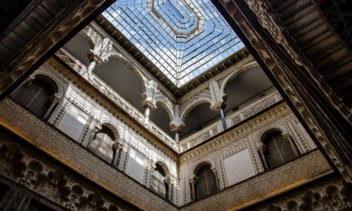 Zdjecie HISZPANIA / Andaluzja / Sevilla / pod szkłem...
