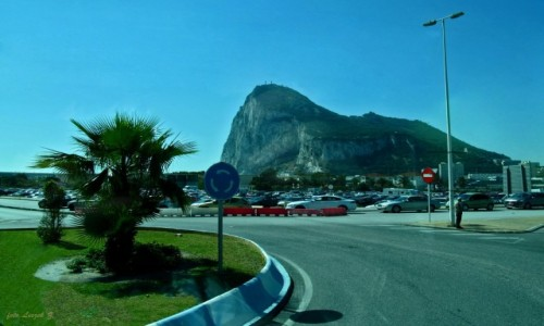 Zdjecie HISZPANIA / Półwysep Iberyjski. / Gibraltar. / Gibraltar -  Skała (The Rock of Gibraltar).