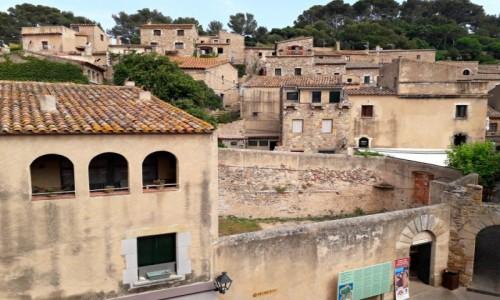 Zdjęcie HISZPANIA / Costa brava / Tossa de Mar / Piekne stare miasto na wzgórzu