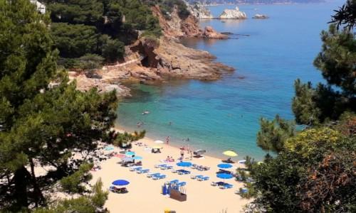 Zdjecie HISZPANIA / Costa brava / Blanes / Cala Sant Francesc.