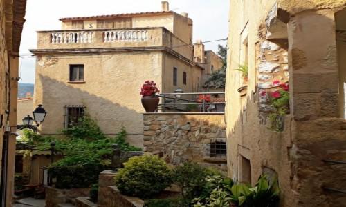 Zdjecie HISZPANIA / Costa brava / Tossa de Mar / Romantyczna starówka
