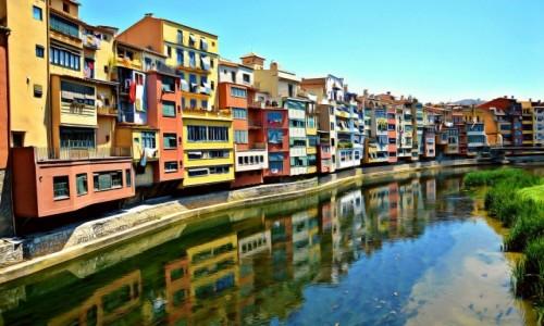 Zdjecie HISZPANIA / Costa brava / Girona / Spacerkiem wzdłuż rzeki