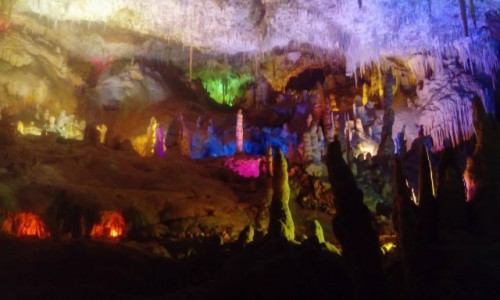 Zdjecie HISZPANIA / Mallorca / Porto Cristo / Cuevas dels hams