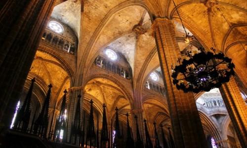 Zdjecie HISZPANIA / Katalonia / Barcelona / katedra