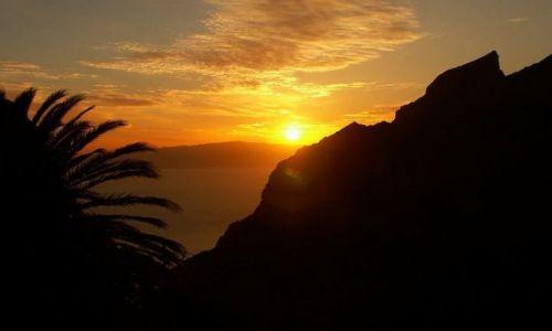 Zdjecie HISZPANIA / Teneryfa / Las Americas / zachody słońca są piękne