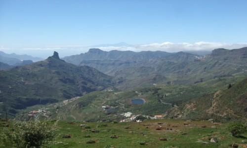 HISZPANIA / Wyspy Kanaryjskie / Gran Canaria / Punkt widokowy na Pico de Las Nieves