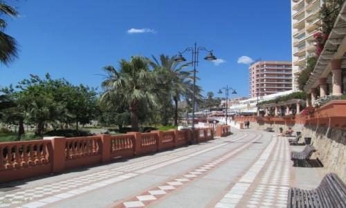 Zdjecie HISZPANIA / prowincja Malaga. / Costa del Sol. / Benalmadena - Promenada.