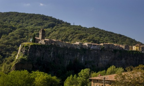 Zdjecie HISZPANIA / Katalonia / Castellfollit de la Roca  / Castellfollit de la Roca