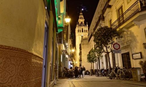Zdjęcie HISZPANIA / Andaluzja / Sewilla / Sewilla nocą
