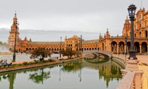Zdjęcie HISZPANIA / Andaluzja / Sewilla / Pl. Hiszpański