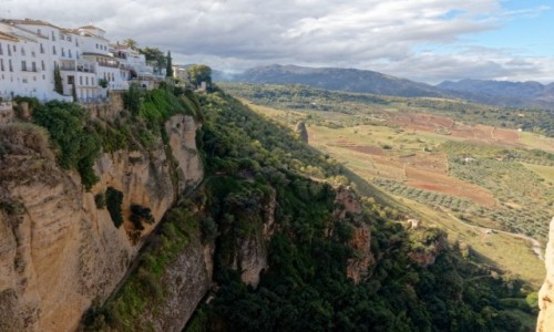 Zdjęcie HISZPANIA / Andaluzja / Ronda / Widok z puente nueve