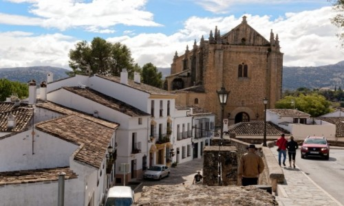 Zdjęcie HISZPANIA / Andaluzja / Ronda / iglesia del espiritu santo