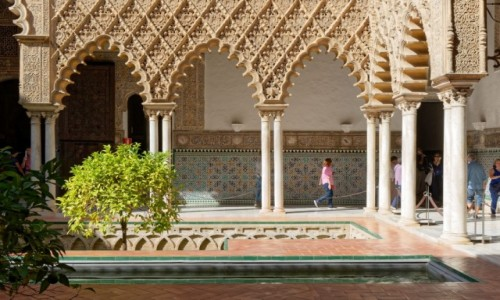 Zdjęcie HISZPANIA / Andaluzja / Sewilla / Alkazar